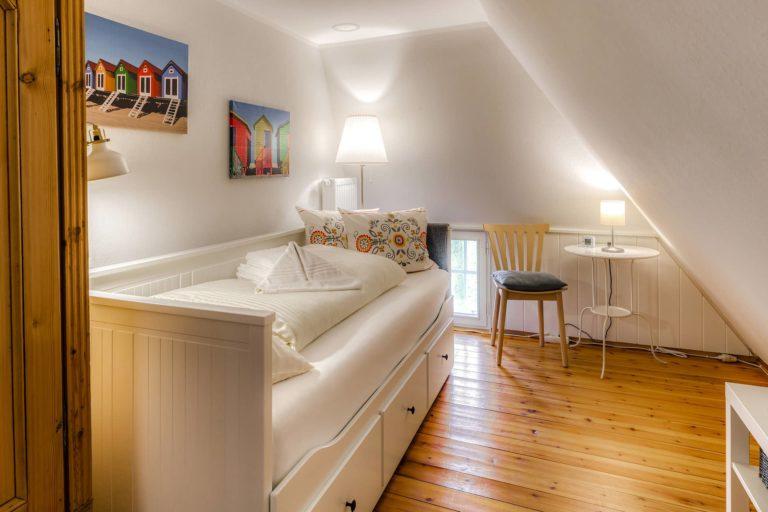 Das Einzelschlafzimmer